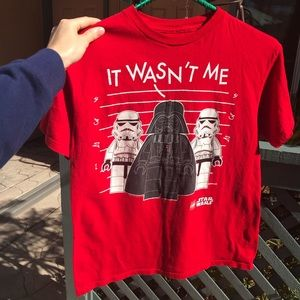 Lego Shirts & Tops - L E G O LEGO Star Wars Boy's Large T-Shirt DISNEY